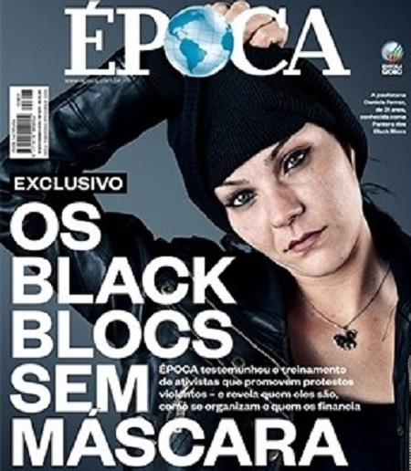 revista época black blocs
