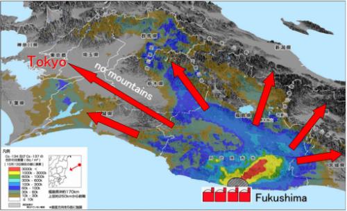 fukushima japão radiação