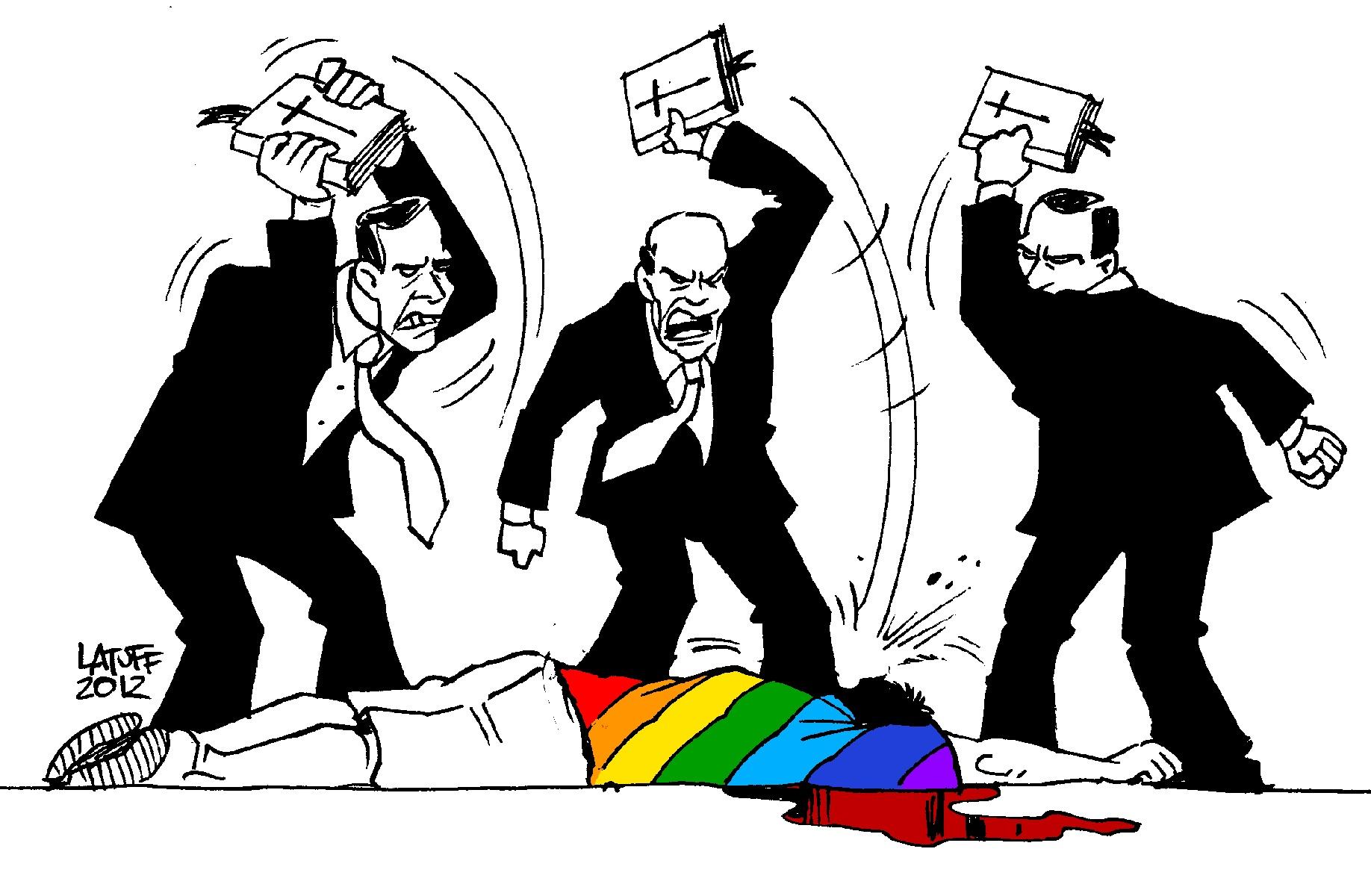 """Resultado de imagem para Pastor convoca evangélicos a matar gays """"porque eles não são obra de Deus"""""""