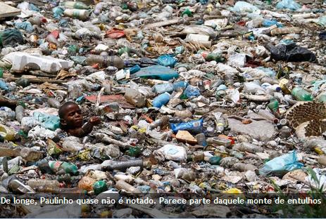 crianças infância lixo recife