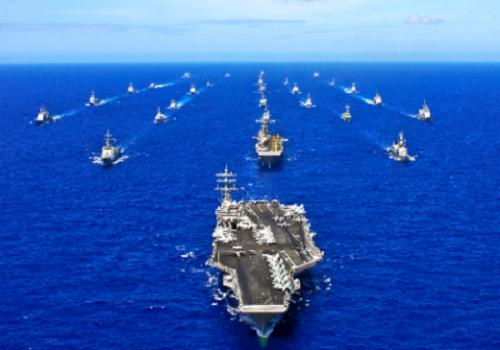 tropas navais militares eua china