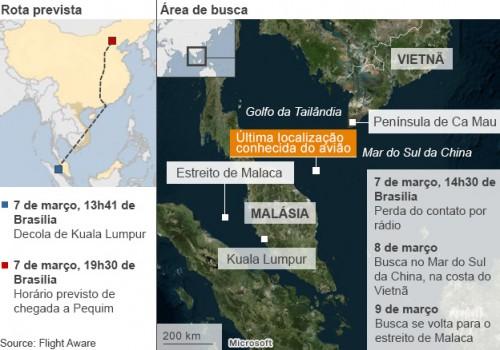 avião desaparecido malásia