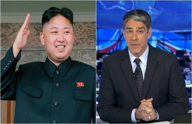 jornal nacional cabelos coréia do norte