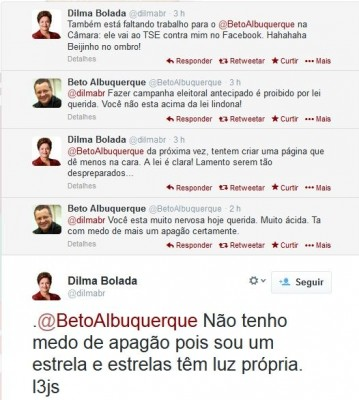 dilma bolada beto albuquerque twitter