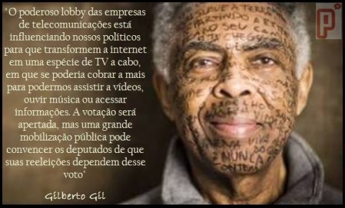 gilberto gil marco civil internet