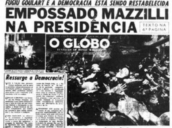globo apoiou a ditadura