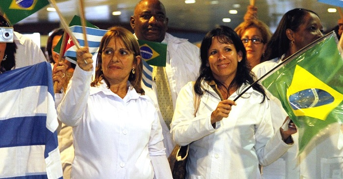 médicos cubanos brasil