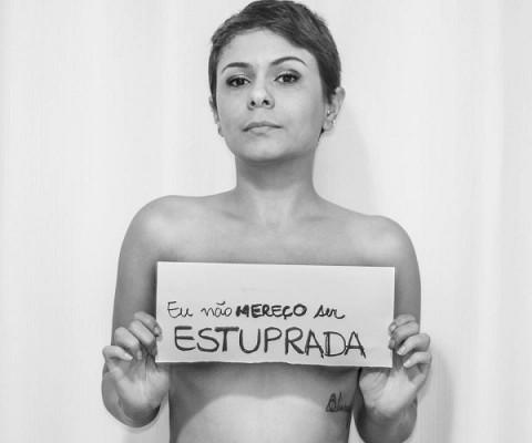 campanha não mereço ser estuprada