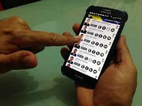 aplicativo avaliar políticos