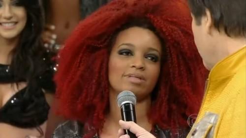 arielle faustão cabelo vassoura bruxa