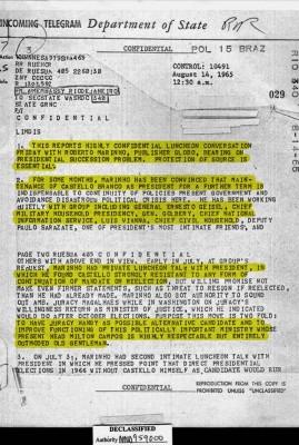 documento globo apoio ditadura