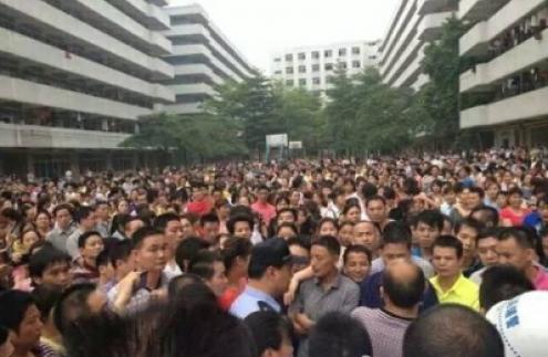 greve trabalhadores nike adidas