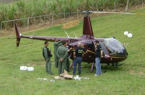 helicóptero cocaína perrella