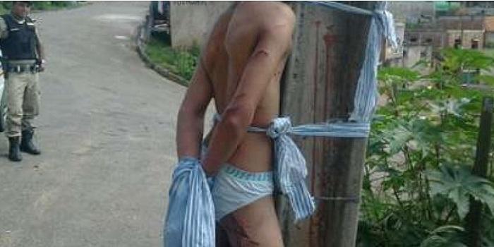 justiceiros torturado cueca ipatinga