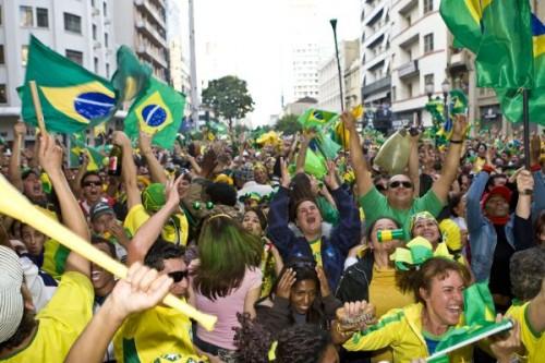 torcida brasil copa 2014