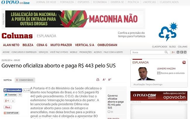 legalização do aborto no brasil