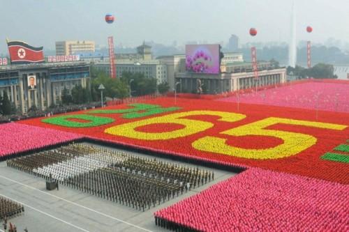 exército coreia do norte Pyongyang
