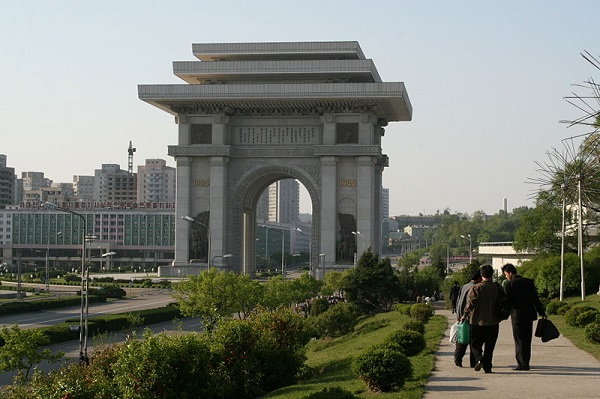 Arco do Triunfo coreia do norte