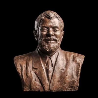 estátua bronze lula eua