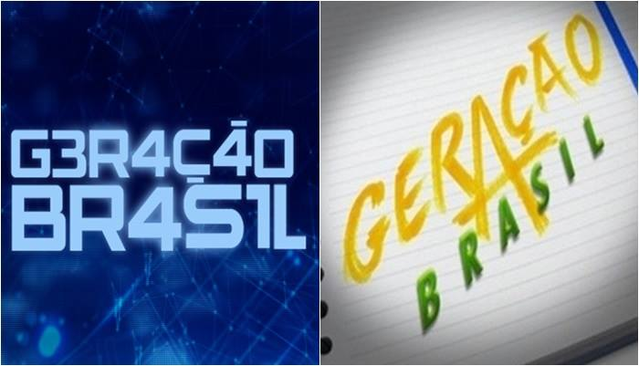 logo geração brasil 45