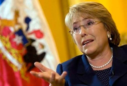 presidente Chile Michelle Bachelet