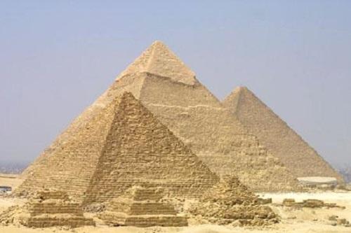 piramides egito construção