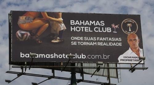 propaganda turismo sexual outdoor