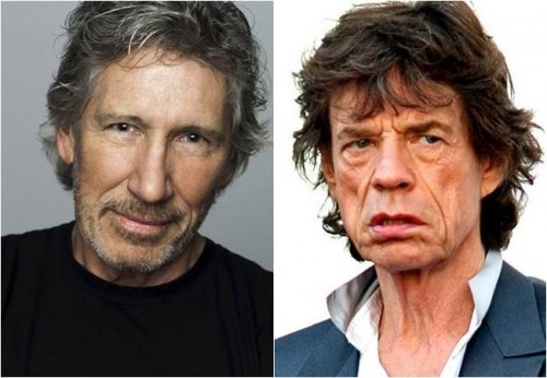 roger waters mick jagger israel