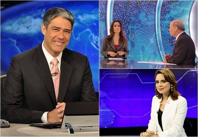 audiência telejornais brasil