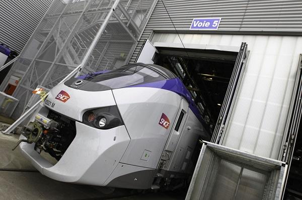 trem frança plataforma