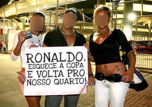 imagem ronaldo tv revolta