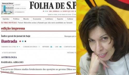 astróloga folha previsões dilma