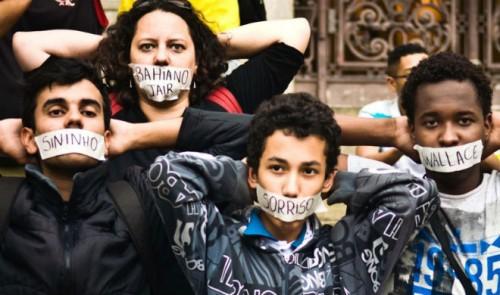 ativistas presos rio de janeiro