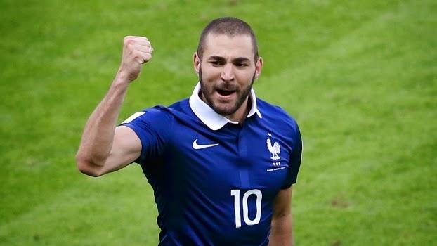 Karim Benzema copa 2014 hino