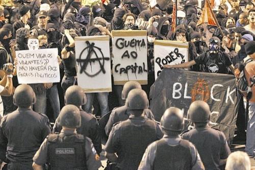 black bloc brasil