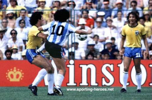 brasil argentina copa 1982
