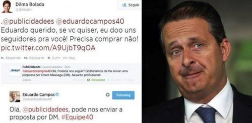eduardo campos twitter dilma bolada