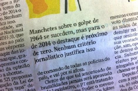 estadão golpe dilma 2014