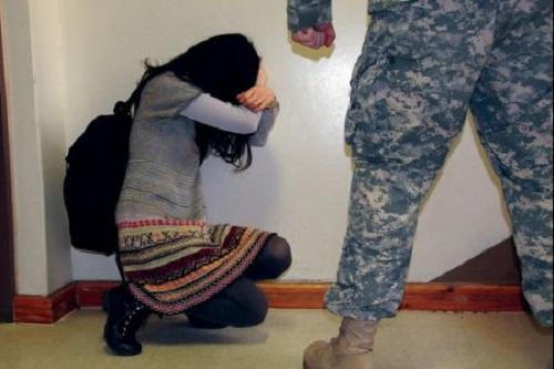 estupro forças armadas guerra
