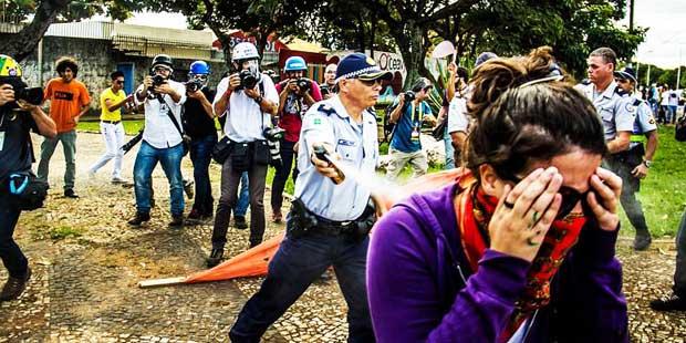 mídia ninja protesto 12 junho