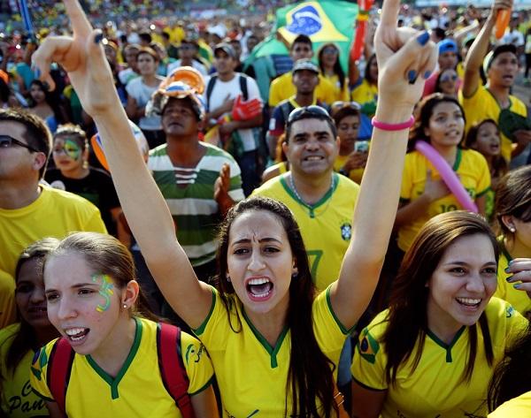mulher brasileira copa 2014