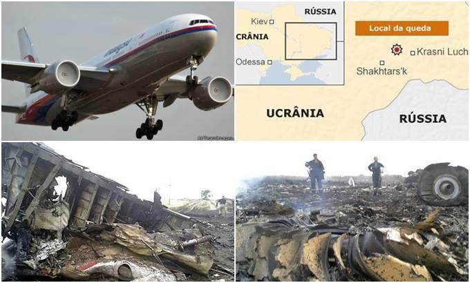 acidente avião malaysia airlines ucrânia rússia
