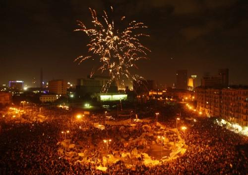 primavera árabe praça tahir