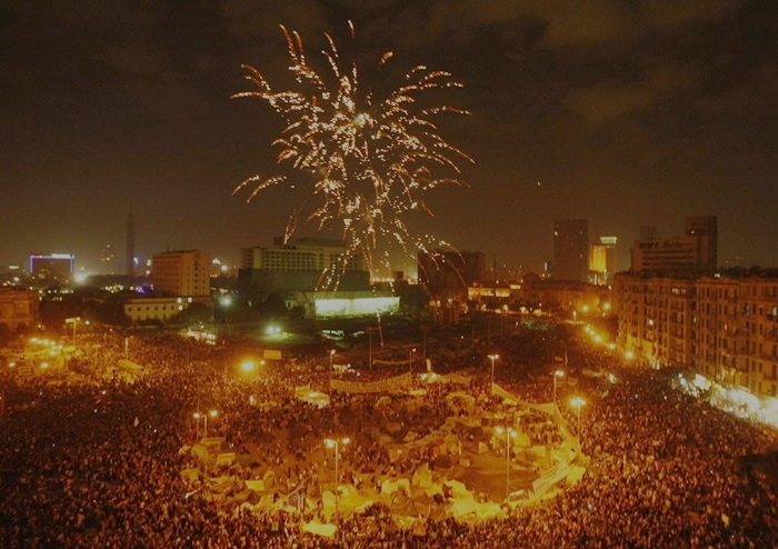 egito praça tahrir primavera árabe*