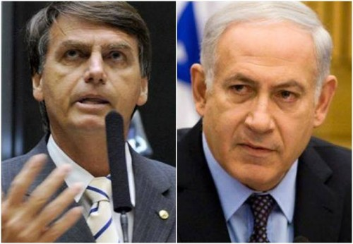 bolsonaro israel nota gaza