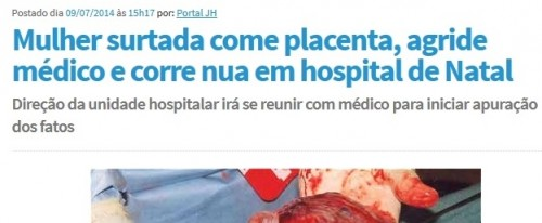 comer placenta natal