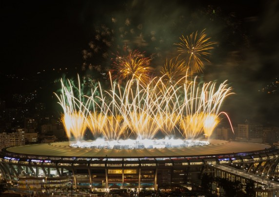 maracanã copa 2014 fogos