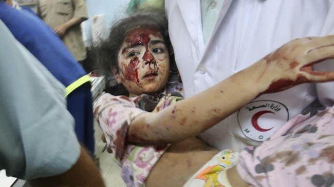 criança gaza israel morte