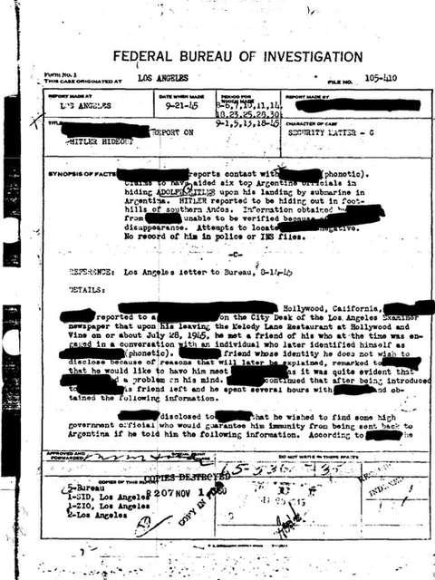 documento fbi hitler argentina