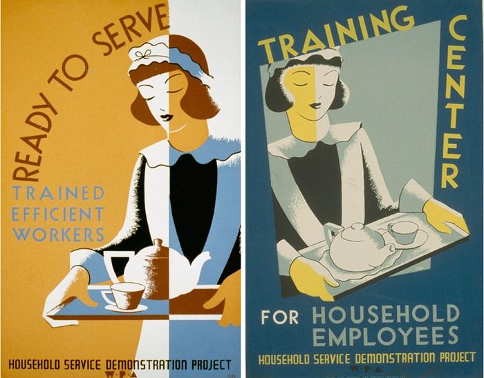 empregada doméstica eua cartaz